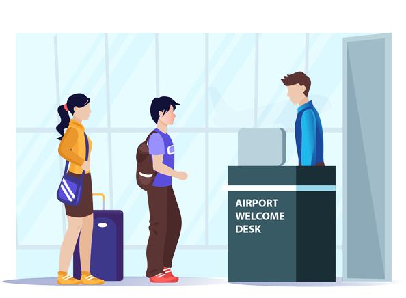 Banner image for iCent Airport Welcome Desk